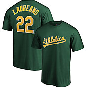 Majestic Youth Oakland Athletics Ramon Laureano #22 Green T-Shirt
