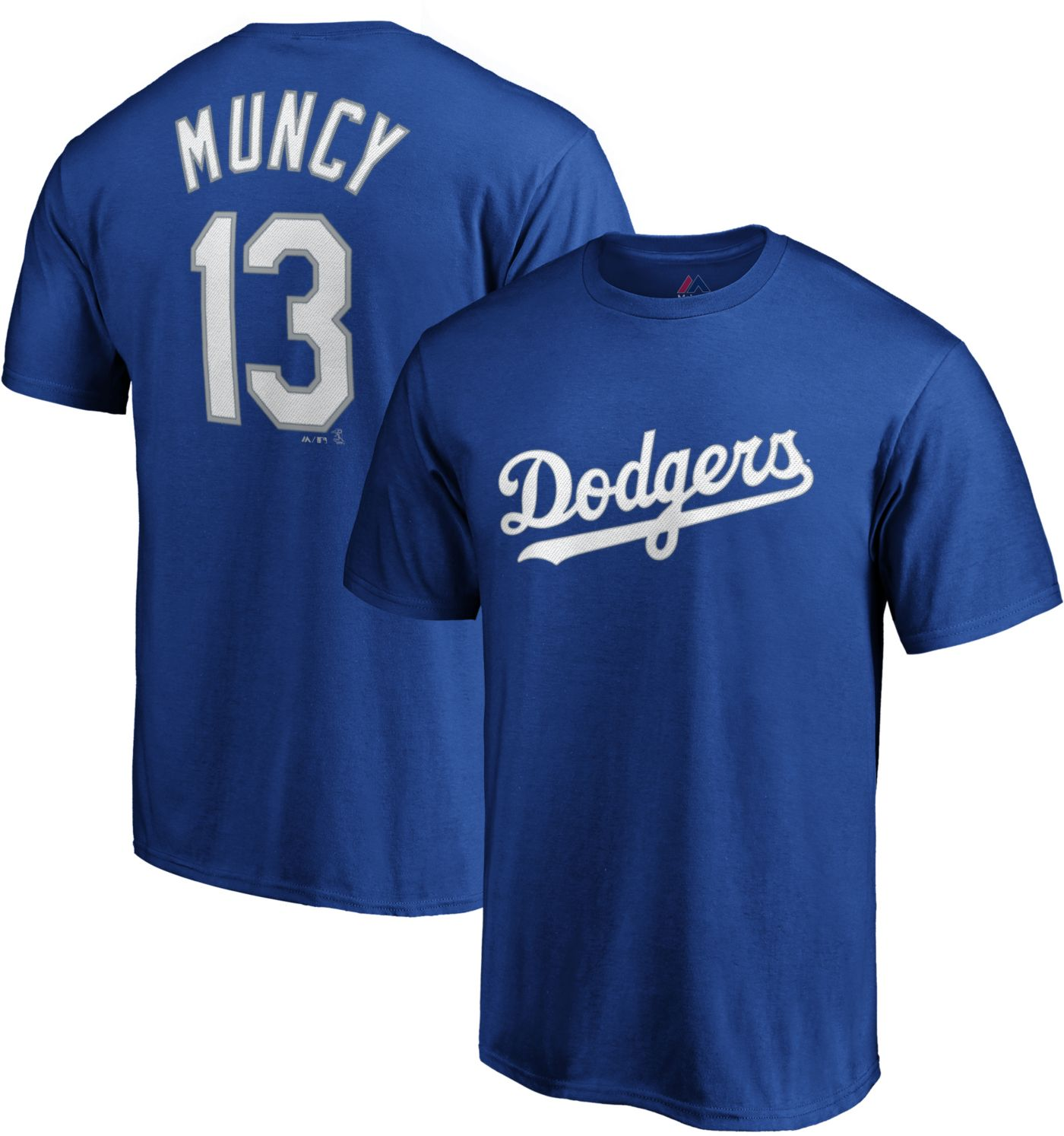 on sale 2a646 a656c Majestic Youth Los Angeles Dodgers Max Muncy #13 Royal T-Shirt