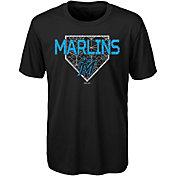 Gen2 Youth Miami Marlins Dri-Tek Black T-Shirt