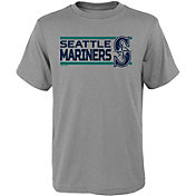 Gen2 Youth Seattle Mariners Dri-Tek Grey T-Shirt