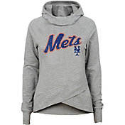 Gen2 Youth Girls' New York Mets Funnel Neck Pullover Hoodie