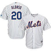 6a5533b1a Majestic Youth Replica New York Mets Pete Alonso  20 Cool Base Home White  Jersey