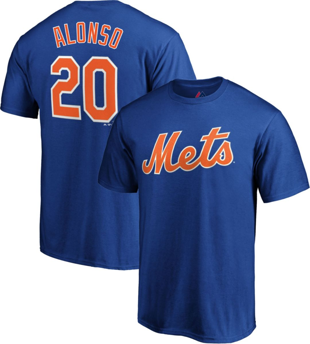 new concept e0e0a 71c6c Majestic Youth New York Mets Pete Alonso #20 Royal T-Shirt