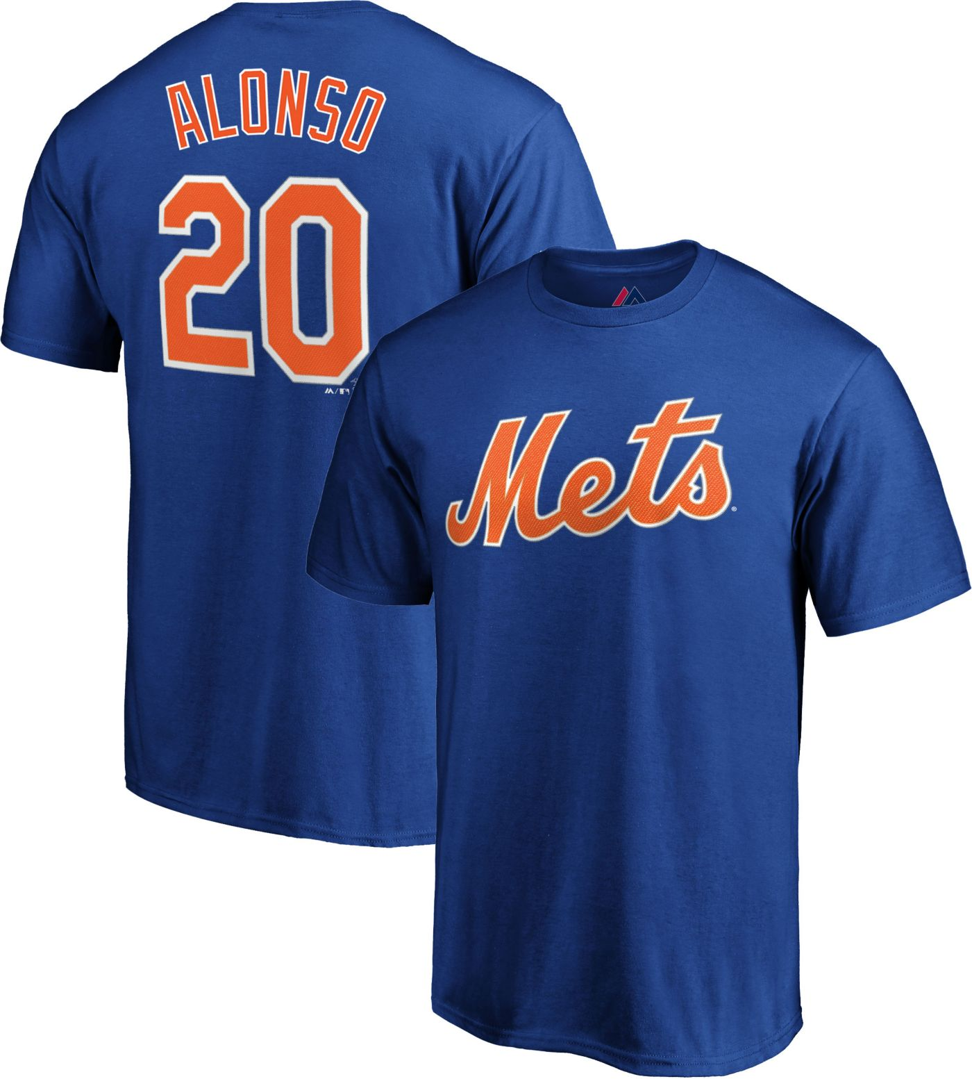 Majestic Youth New York Mets Pete Alonso #20 Royal T-Shirt