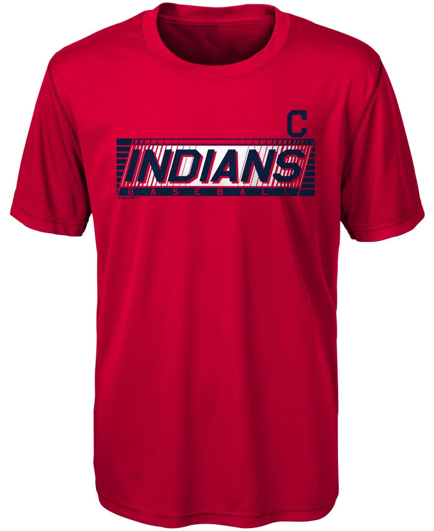 Gen2 Youth Cleveland Indians Switch Hitter Dri-Tek T-Shirt