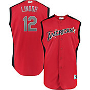 Majestic Youth 2019 American League Francisco Lindor #12 All-Star Game Cool Base Jersey