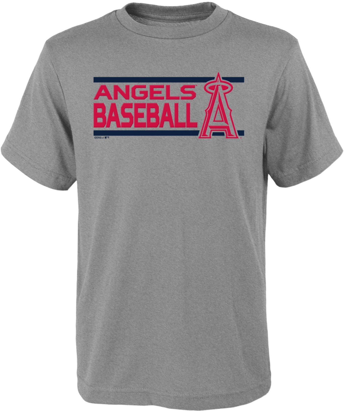 Gen2 Youth Los Angeles Angels Dri-Tek Grey T-Shirt