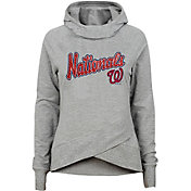 Gen2 Youth Girls' Washington Nationals Funnel Neck Pullover Hoodie