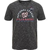 Youth 2019 National League Champions Locker Room Washington Nationals T-Shirt