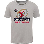 Youth 2019 World Series Champions Locker Room Washington Nationals T-Shirt