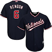 Majestic Youth Replica Washington Nationals Anthony Rendon #6 Cool Base Alternate Navy Jersey