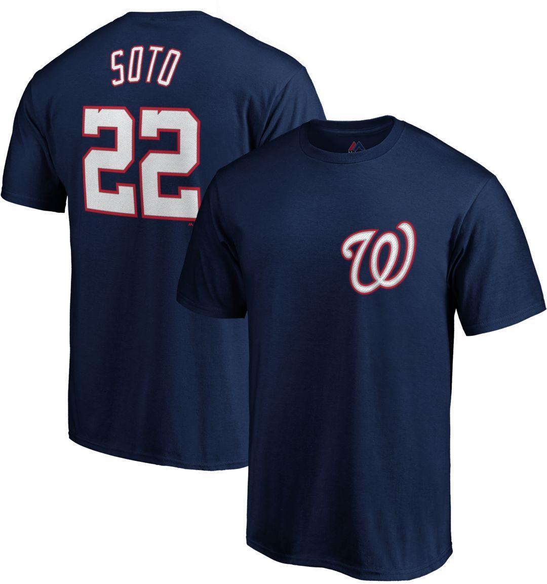 pretty nice 96806 857d7 Majestic Youth Washington Nationals Juan Soto T-Shirt