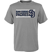 Gen2 Youth San Diego Padres Dri-Tek Grey T-Shirt