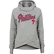 Gen2 Youth Girls' Philadelphia Phillies Funnel Neck Pullover Hoodie