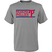 Gen2 Youth Philadelphia Phillies Dri-Tek Grey T-Shirt