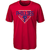 Gen2 Youth Philadelphia Phillies Dri-Tek Red T-Shirt