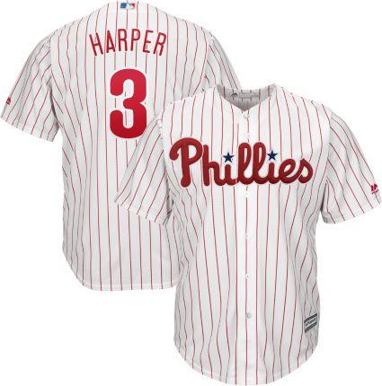 c4634e0e Majestic Youth Replica Philadelphia Phillies Bryce Harper #3 Cool ...