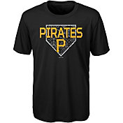Gen2 Youth Pittsburgh Pirates Dri-Tek Black T-Shirt