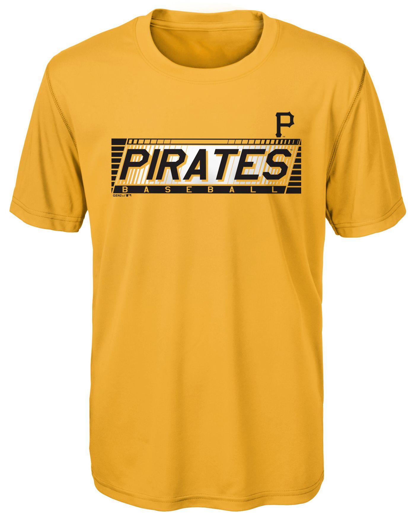 Gen2 Youth Pittsburgh Pirates Switch Hitter Dri-Tek T-Shirt