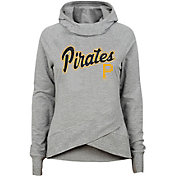 Gen2 Youth Girls' Pittsburgh Pirates Funnel Neck Pullover Hoodie