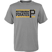 Gen2 Youth Pittsburgh Pirates Dri-Tek Grey T-Shirt