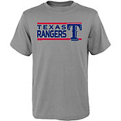 Gen2 Youth Texas Rangers Dri-Tek Grey T-Shirt