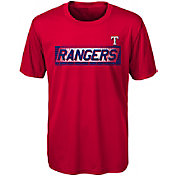 Gen2 Youth Texas Rangers Switch Hitter Dri-Tek T-Shirt