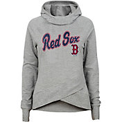 Gen2 Youth Girls' Boston Red Sox Funnel Neck Pullover Hoodie