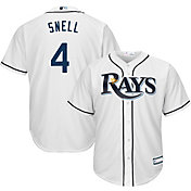 Youth Replica Tampa Bay Rays Blake Snell #4 Home White Jersey