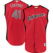 Majestic Youth 2019 American League Carlos Santana #41 All-Star Game Cool Base Jersey