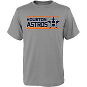 Gen2 Youth Houston Astros Dri-Tek Grey T-Shirt