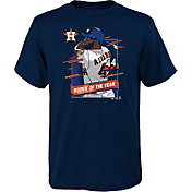 Majestic Youth Boys' Houston Astros Yordan Alvarez Navy 2019 Rookie of the Year T-Shirt