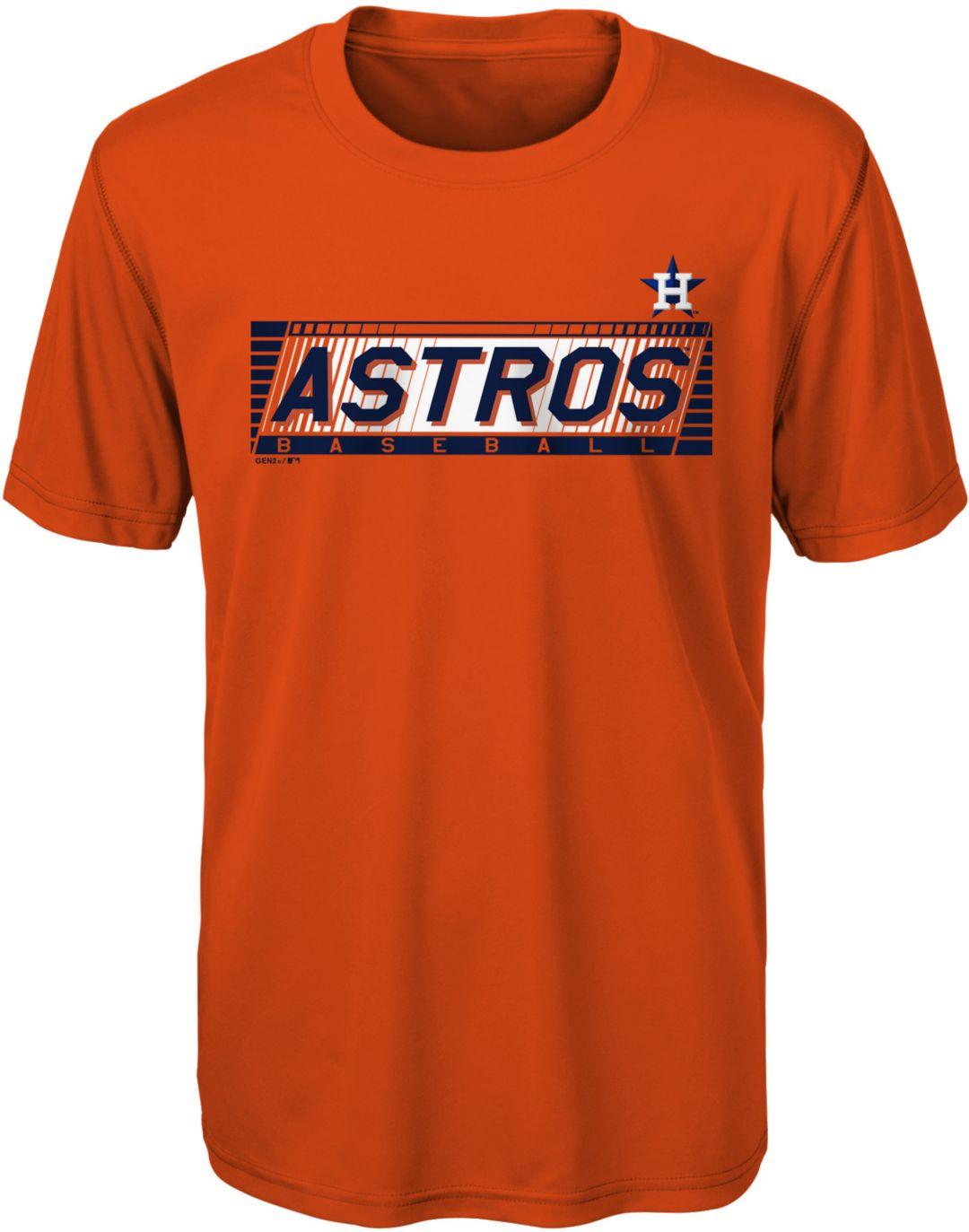 the latest f8c3b 10a77 Gen2 Youth Houston Astros Switch Hitter Dri-Tek T-Shirt