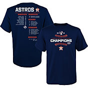 Youth 2019 American League Champions Houston Astros Roster T-Shirt