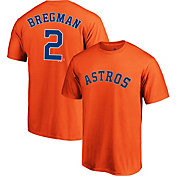 219bfc77e Product Image · Majestic Youth Houston Astros Alex Bregman  2 Orange T-Shirt