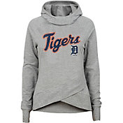 Gen2 Youth Girls' Detroit Tigers Funnel Neck Pullover Hoodie