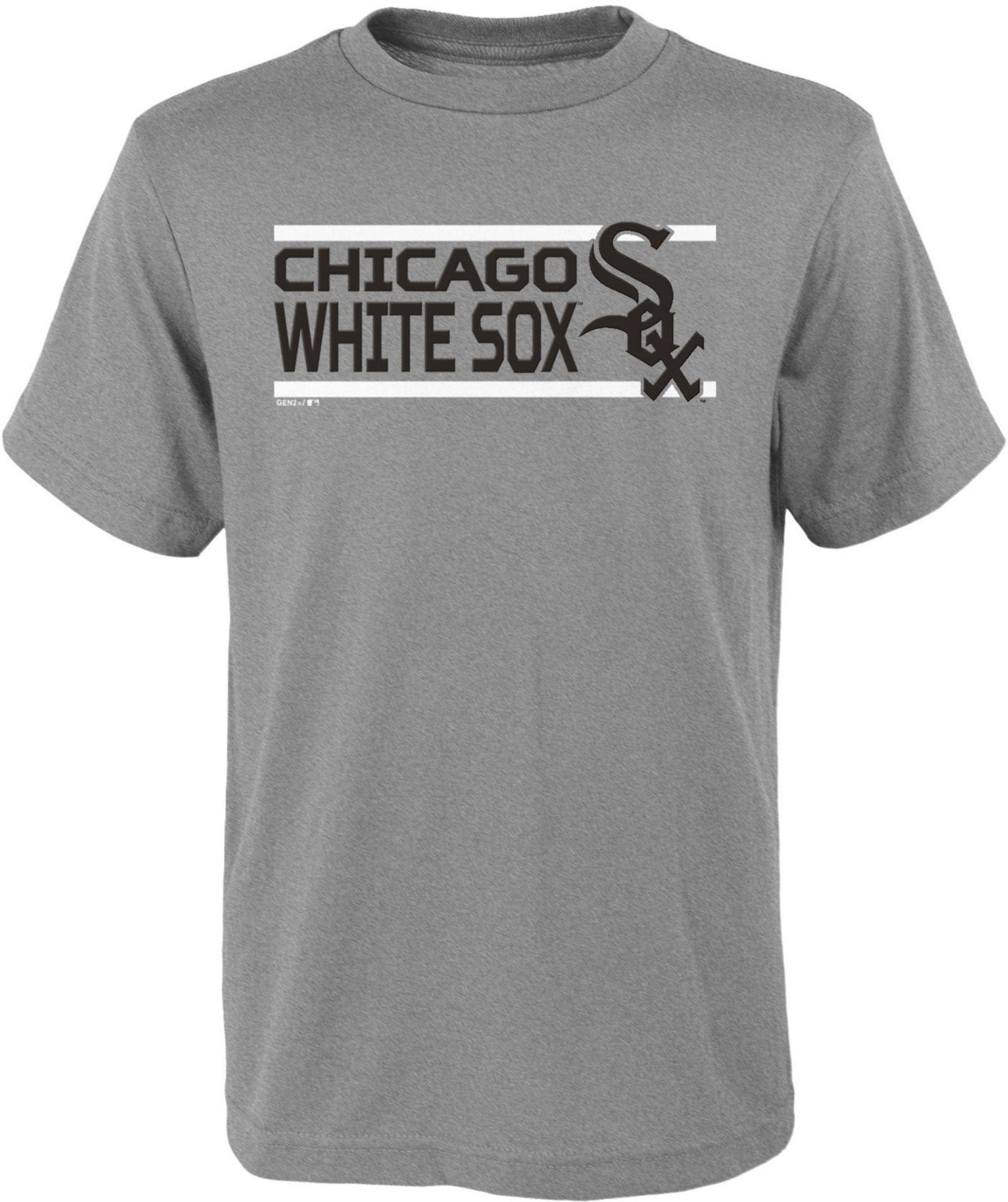 Gen2 Youth Chicago White Sox Dri-Tek Grey T-Shirt