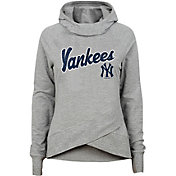 Gen2 Youth Girls' New York Yankees Funnel Neck Pullover Hoodie