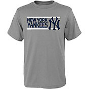 Gen2 Youth New York Yankees Dri-Tek Grey T-Shirt