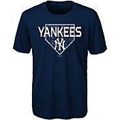 Gen2 Youth New York Yankees Dri-Tek Navy T-Shirt