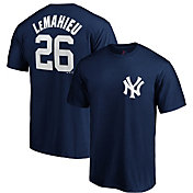 Majestic Youth New York Yankees D.J. LeMahieu #26 Navy T-Shirt