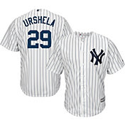 Majestic Youth Replica New York Yankees Gio Urshela #29 Cool Base Home White Jersey