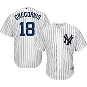 Youth Replica New York Yankees Didi Gregorius #18 Home White Jersey