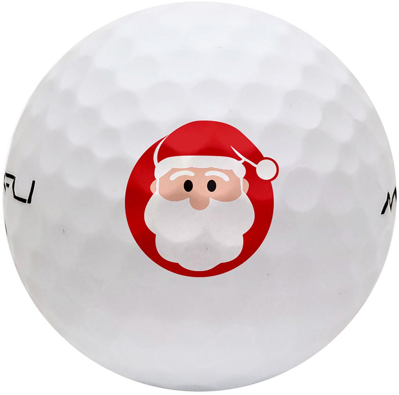 Maxfli SoftFli Holiday Novelty Gloss Golf Balls