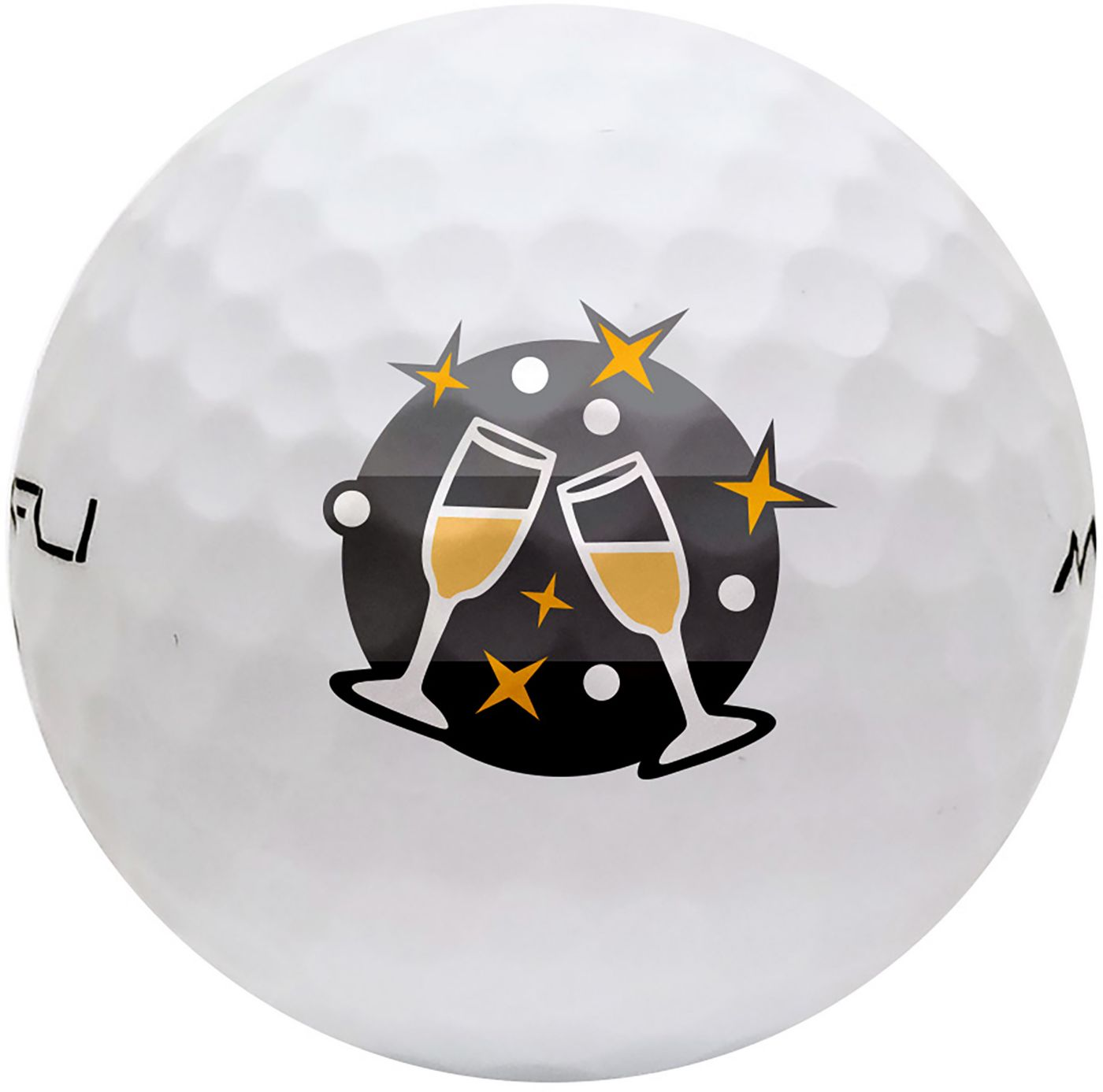 Maxfli SoftFli Holiday Novelty Matte Golf Balls