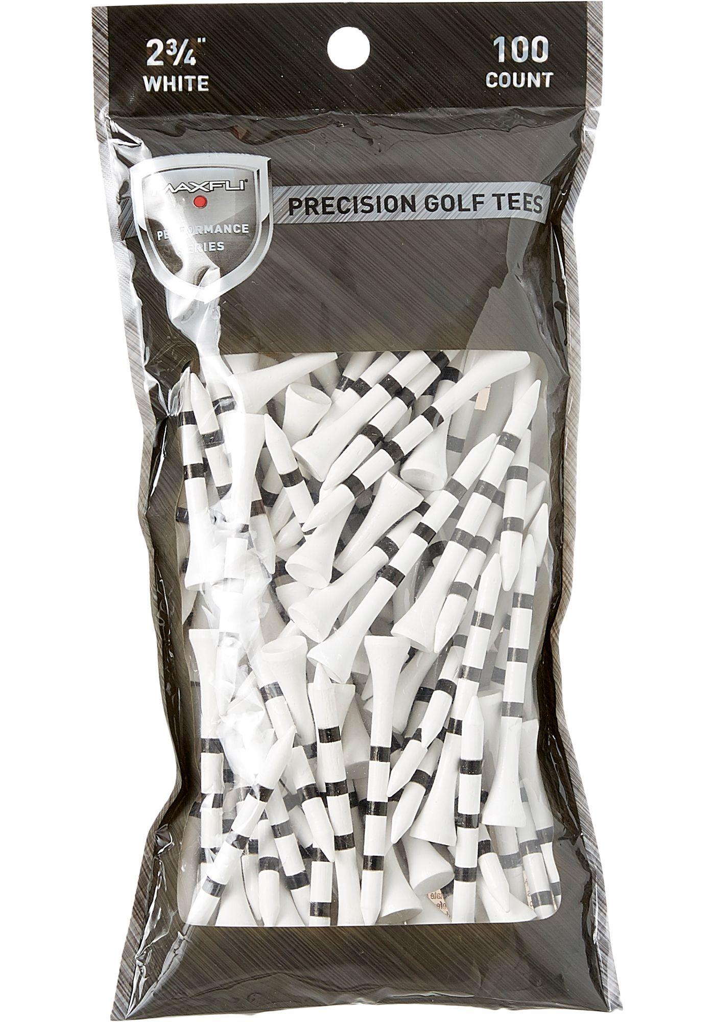 "Maxfli 2.75"" Performance Series Precision Golf Tees - 100-Pack"