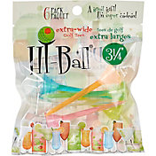 "Hi-Ball 3.25"" Mixed Extra-Wide Golf Tees - 6-Pack"