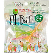 "Hi-Ball 3.25"" Mixed Extra-Wide Step Golf Tees - 6-Pack"
