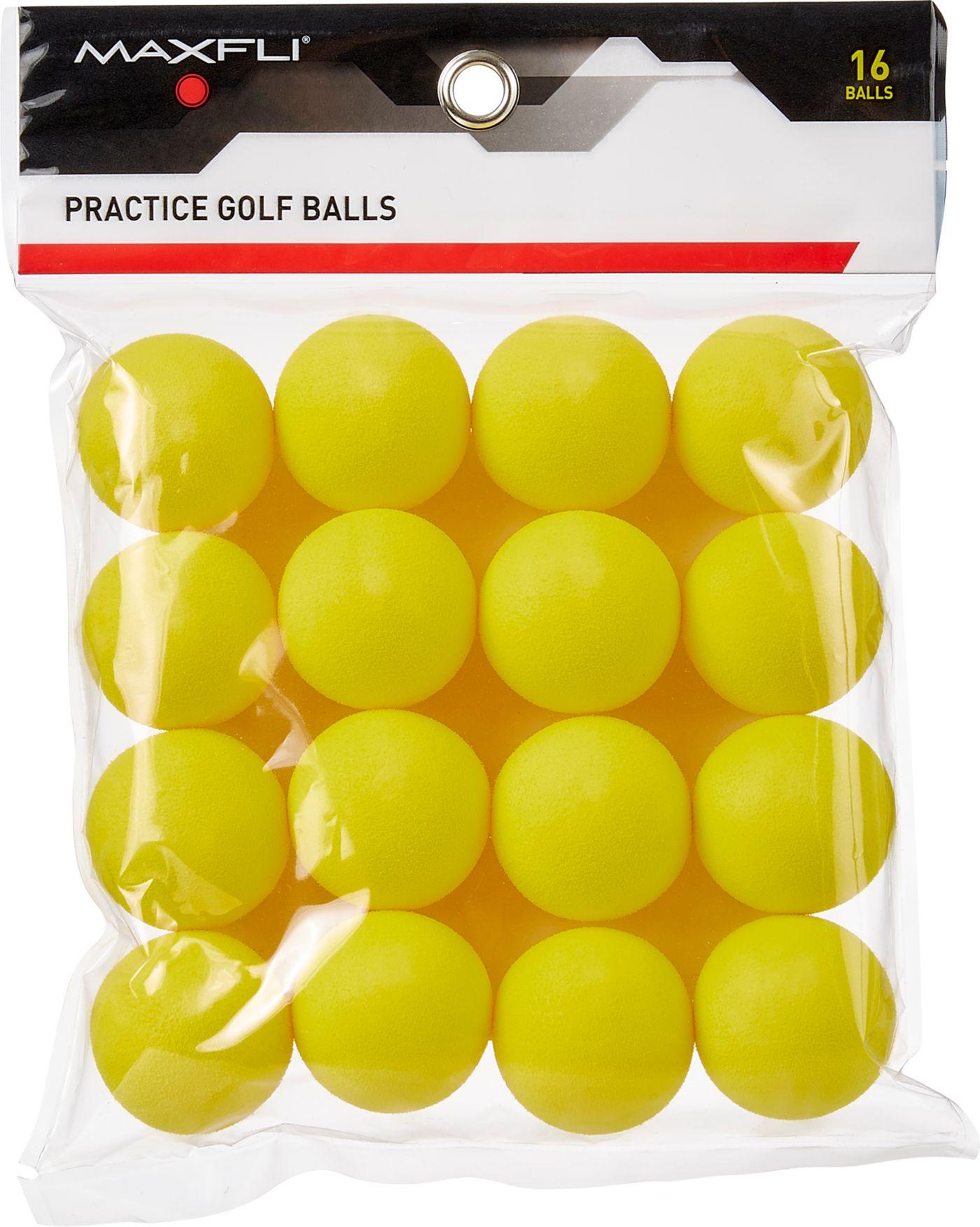 Maxfli Foam Practice Balls - 16-Pack