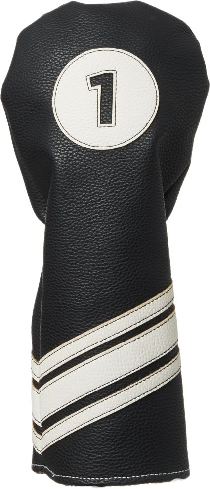 Maxfli Vintage PU Leather Driver Headcover